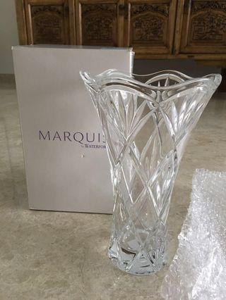 BN Marquis by Waterford 10 inches Crystal Vase