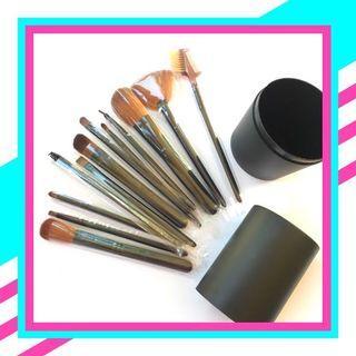 Brush make up tabung 12pcs