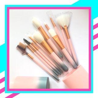 Brush make up Set tabung kuaa makeup