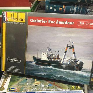 Heller Chalutier Roc Anadour tug boat ship revell tamiya trumpeter 小號手