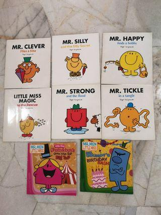 Mr and miss 8 books