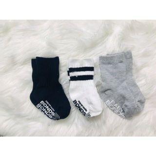Set Sock Bonds 0-6m