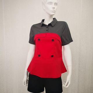 S - XL Satin Fashion Blouse [Ready Stocks]