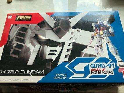 Gundam RG rx78-2 (Hong Kong edition)