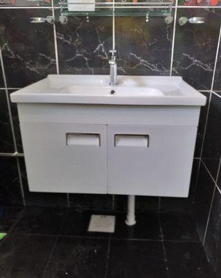 Stainless Steel cabinet with basin-600mm 👍finish