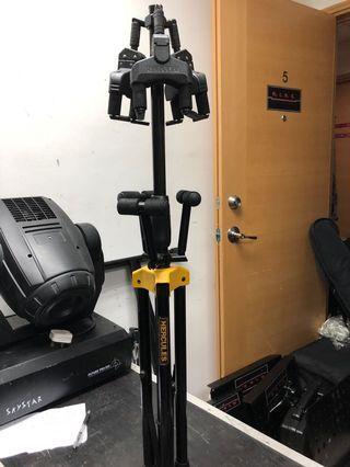 Hercules triple guitar stand
