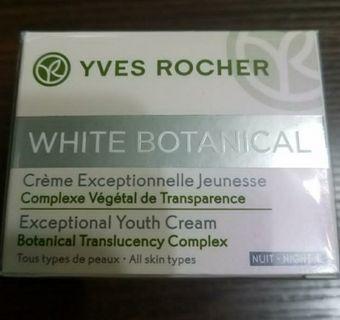好平 抵買 全新葉露芝white botanical youth night cream 植萃美白賦活晚霜 50ml 平放 $100 自己有用緊