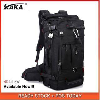 KaKa Premium Extra 3 in 1 Luggage Travel Bag Backpack 40L