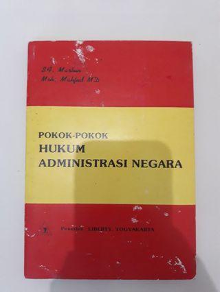 POKOK-POKOK HUKUM ADMINISTRASI NEGARA