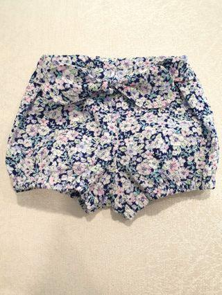 *3-6 M*  Bloomer shorts/nappie cover