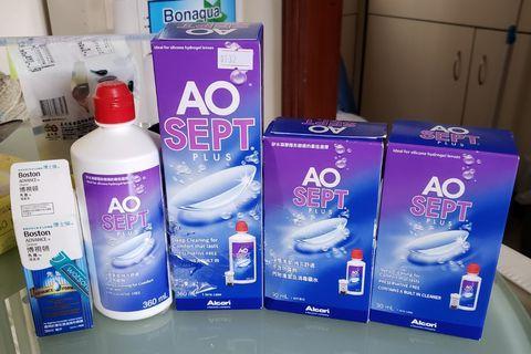 AO SEPT PLUS 隱形眼鏡清潔及消毒藥水