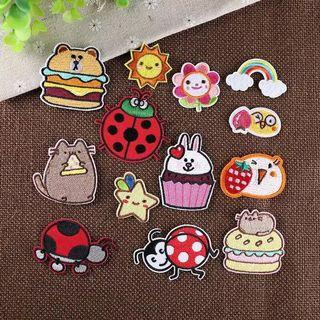 Instocks | Cute Assorted Iron On Patches
