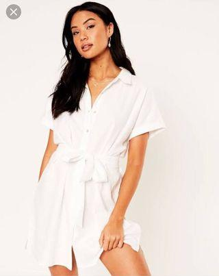 Glassons linen blend dress