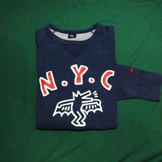 UNIQLO X KEITH HARING CREWNECK