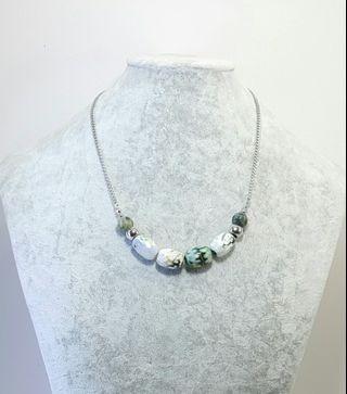 Maja Green Beaded Necklace