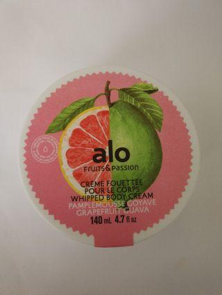 Fruits & Passion 140ml grapefruit guave Whipped Body Cream 西柚 高效能潤體霜  身體滋潤乳霜