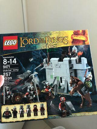 LEGO 9471 全新靚盒 lord of the rings