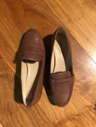 Land's End Leather Women's Loafers