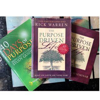 Christian Books: The Purpose Driven Life by Rick Warren