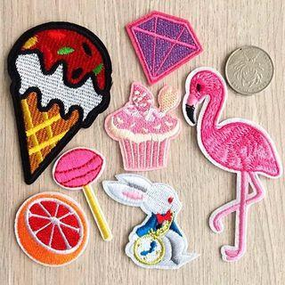 Instocks | Assorted Iron On Patches