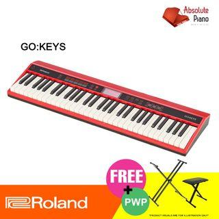 Roland Keyboard GO:KEYS 61 Key Keyboard New High-End Digital Keyboard