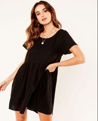Glassons Linen blend 'babydoll' dress