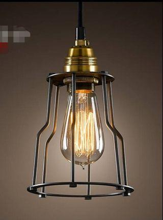 #RayaHome🔥 Single Pendant Light c/w LED Filament Bulb