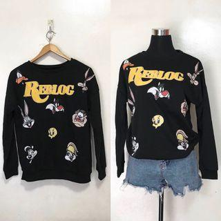 Looney Tunes Vintage Style Pullover Sweater