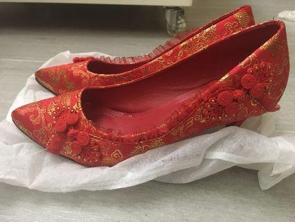 結婚裙褂鞋(減價)