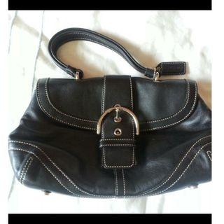 COACH hand bag, for $140. Calf leather.
