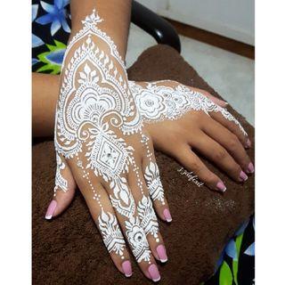 Bridal Henna(white henna)