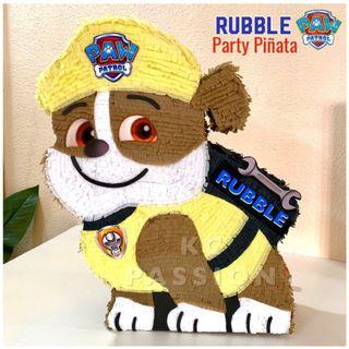 🎊 PAW PATROL PARTY PIÑATA • PINATA [Rubble • Marshall • Skye • Rocky • Chase • Zuma • Everest] Customized • Personalized • Pull String • Hit Type Pinatas for Party Event Decoration • Table Centerpiece • Photo Booth Props