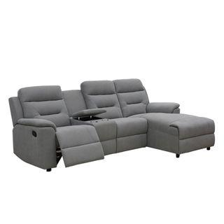 Recliner Corner Sofa With Console MLM-111451