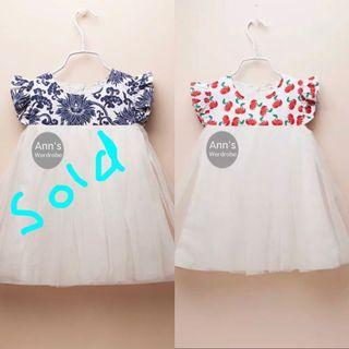 Last Piece Clearence! Instock Premium Cotton Princess Dress