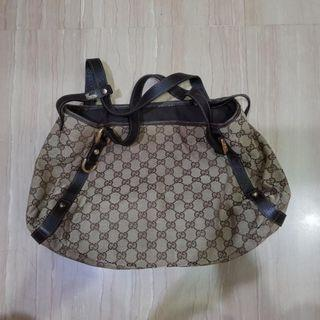Authentic GUCCI bag for $420.