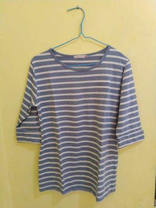 Baju striped blue