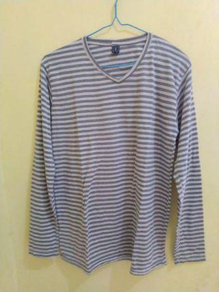 Baju striped grey