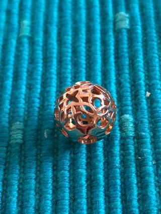 Thomas Sabo rose gold Karma bead