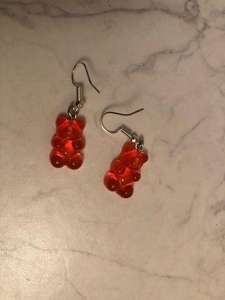 Gummy Bear Earrings 🍭🍬