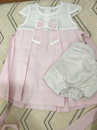 🚚 Trudy & Teddy 3-6M baby girl dress