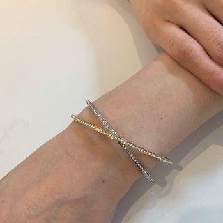 🚚 現貨/實拍㊣【Swarovski 施華洛世奇】基本款手環(銀款)