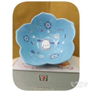 7仔 PC狗 花形陶瓷碗 只限一隻 現貨超值價$59元