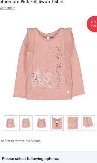 Mothercare frills top