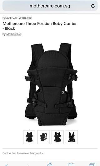 Mother care carrier. Similar to this design . Brown color
