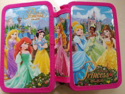 Disney princess  正版筆袋