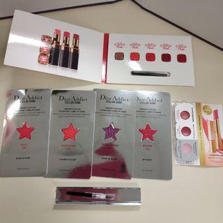 Dior Chanel Covermark Lipstick sample
