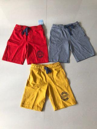 3 Shorts for $30 - BN Mothercare Boys Shorts (3 years old)