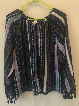 Bohemian-like blouse