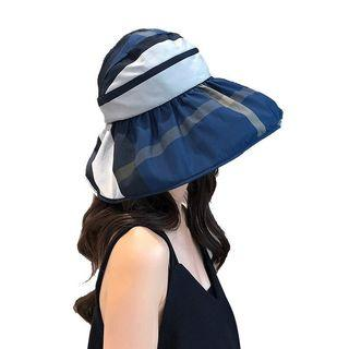 🚚 FREE 🚚: Korea style Navy blue foldable sun hat, fashion and full coverage.Daily use and Outdoor activity