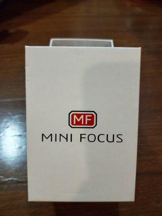 Mini Focus鋼錶帶手錶